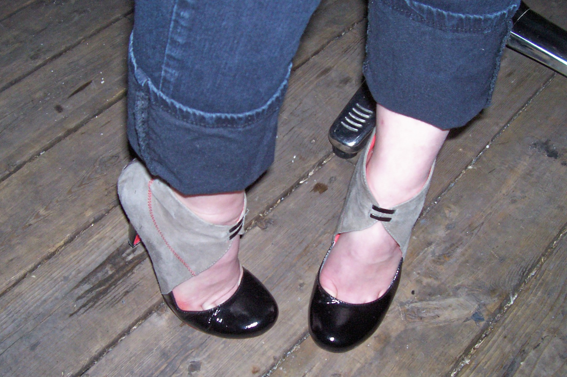 Runway to Reality: C breaks out her Statement Shoes on a Thursday night.