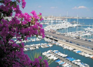 The yachts of Passeig Maritimo