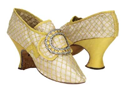 See, see. No touch. Admire history's finest shoes at the Bata Shoe Museum