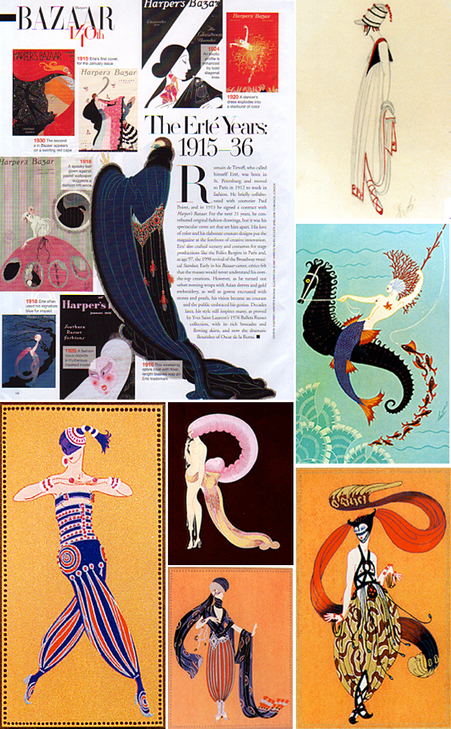 Love Collage: Bazaar pays homage to Erte
