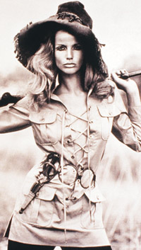 Veruschka. See, this is why a lipstick was named after her. Fierce!