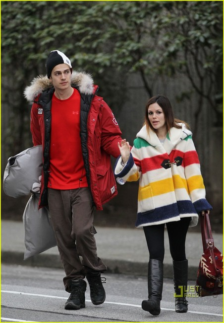 Northern Cool: Hayden in 'the parka' & Rachel in 'the hbc' coat