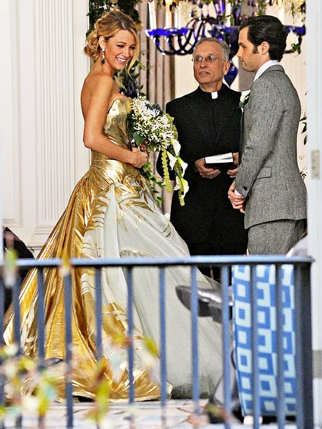 Gossip girl the love collage for Georges chakra gold wedding dress price