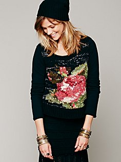Free People Magic Rose sweater