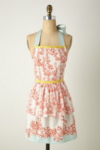 Sad face, I can't find my Anthropologie apron. This would be a perfect Secret Santa gift *wink-wink*