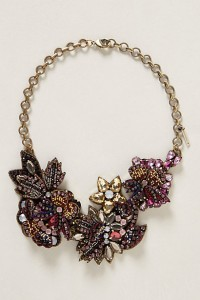 You can never go wrong with an Anthropologie statement necklace. My life!