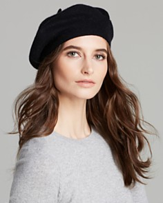 C by Bloomingdales beret