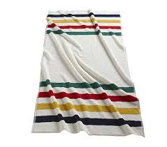 For the travel enthusiast that likes a beach conversation starter, try the Hudson's Bay stripe beach towel.