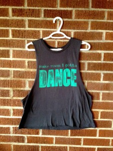 For those times when you can't resist a little pop and lock. Gotta Dance tank top from Enter The Sun