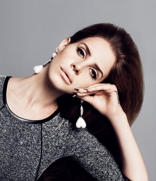 Head tilt: Lana del Rey for H&M