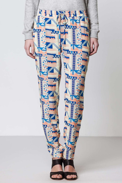 Zora Printed Trouser - Pastels will also be huge for Spring. Try blush pink and soft gelatos. Yum.
