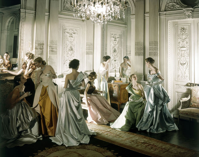 An iconic image of Charles James gowns, photographed by Cecil Beaton 1948