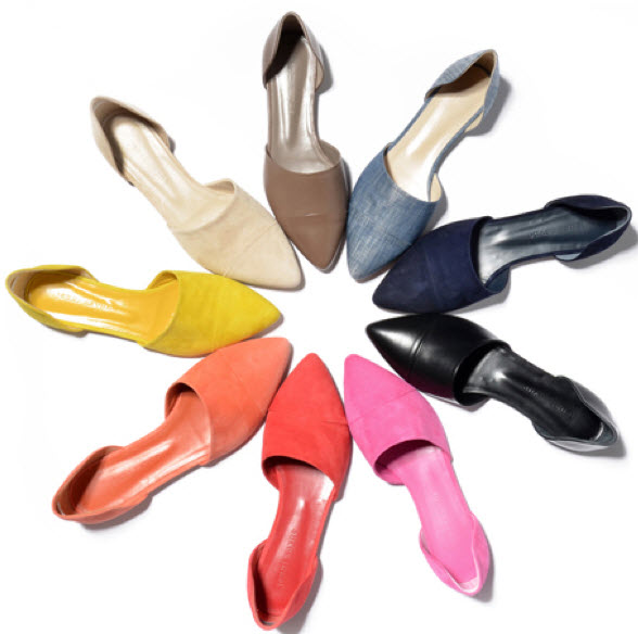 A kaleidoscope of D'Orsay flats from Jenni Kayne