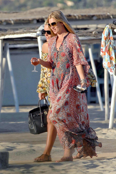 St. Tropez or Bust: Often Kate takes the party to the beach, or a yacht, etc.