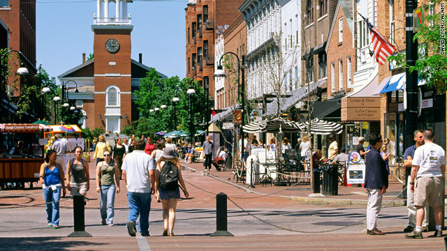 Burlington is the largest city in the state of Vermont. Downtown city kids, just so you know it takes an hour to get a taxi.
