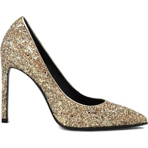 There's no place like Paris.  Saint Laurent Glitter pumps