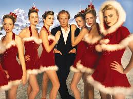 This pic has not much to do with my post except that I like their sexy Santa outfits and Bill Nighy is giving blue steel from Love Actually.